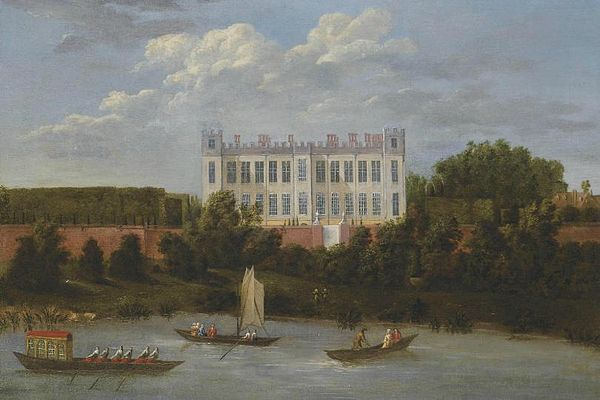 Syon House, as it appeared around the time Princess Anne and Sarah were in residence