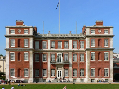 Marlborough House today, showing later additions
