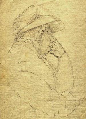 sketch of Janet Livingston Montgomery