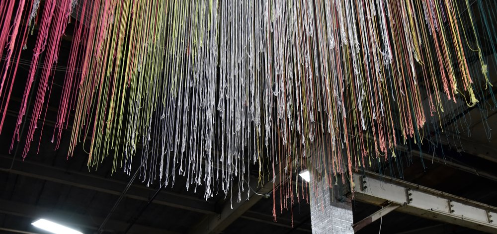 studiospacenyc string+light art installation