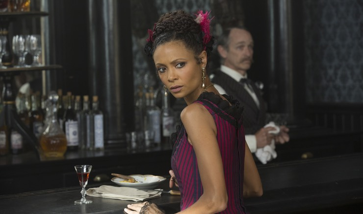 "Thandie Newton as Maeve Millay in the HBO series ""Westworld."" Photo not taken by John Paul Dunn."