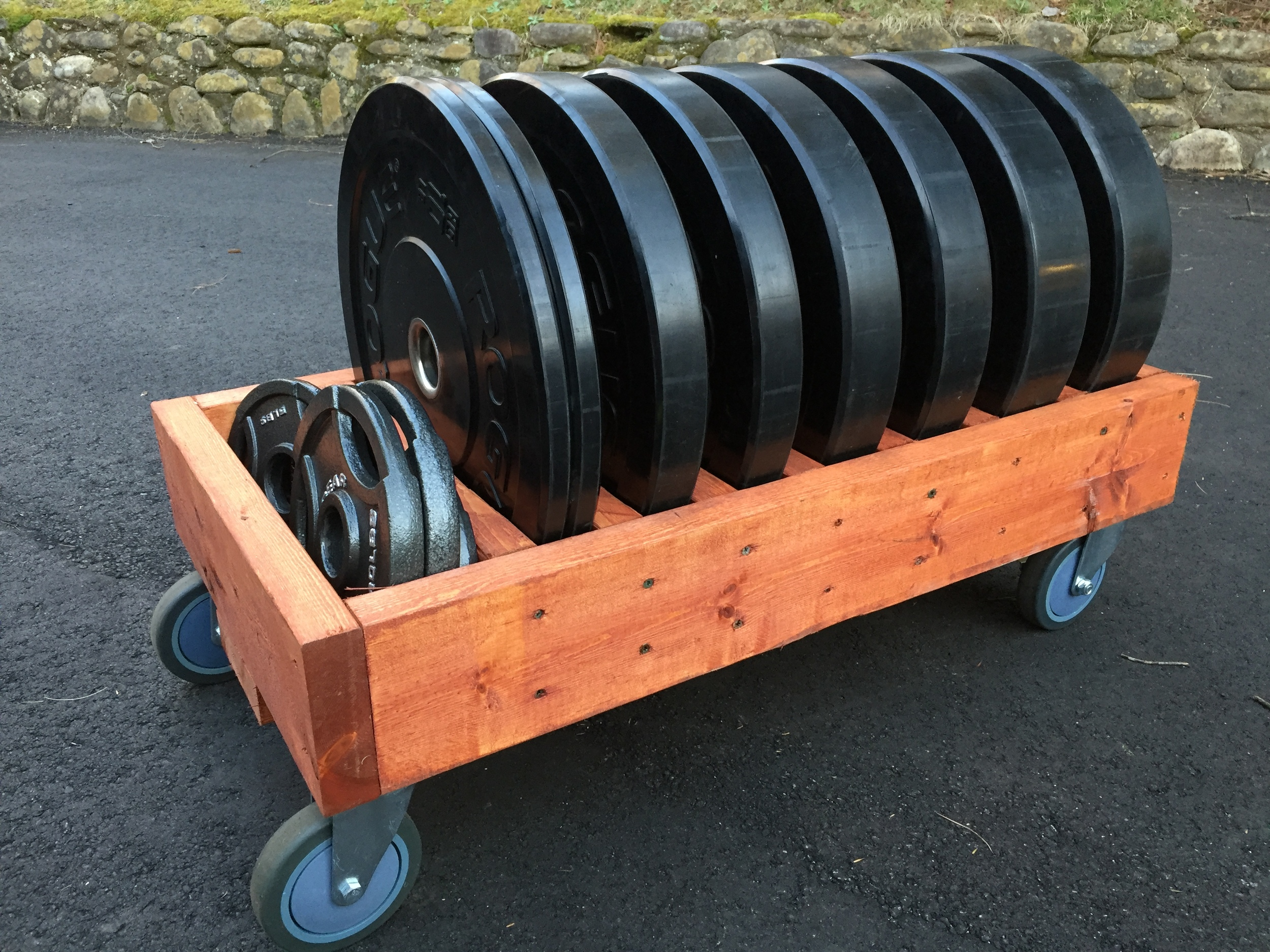 Diy Mobile Bumper Plate Storage Your Daily Upgrade