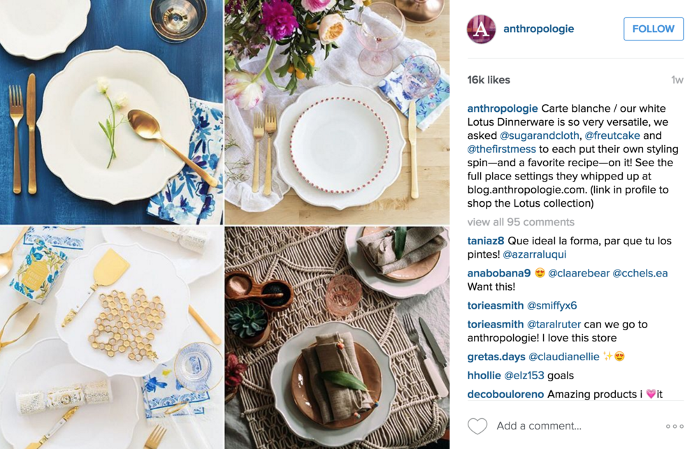 How Anthropologie Rocks Content Marketing