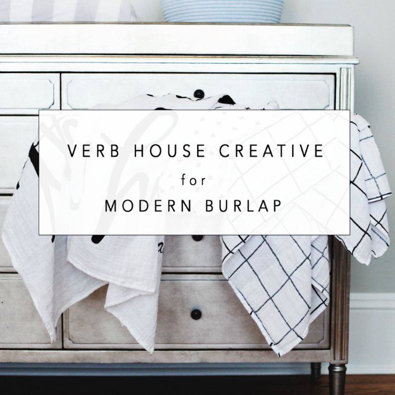 Verb House Creative for Modern Burlap - Brand Photography