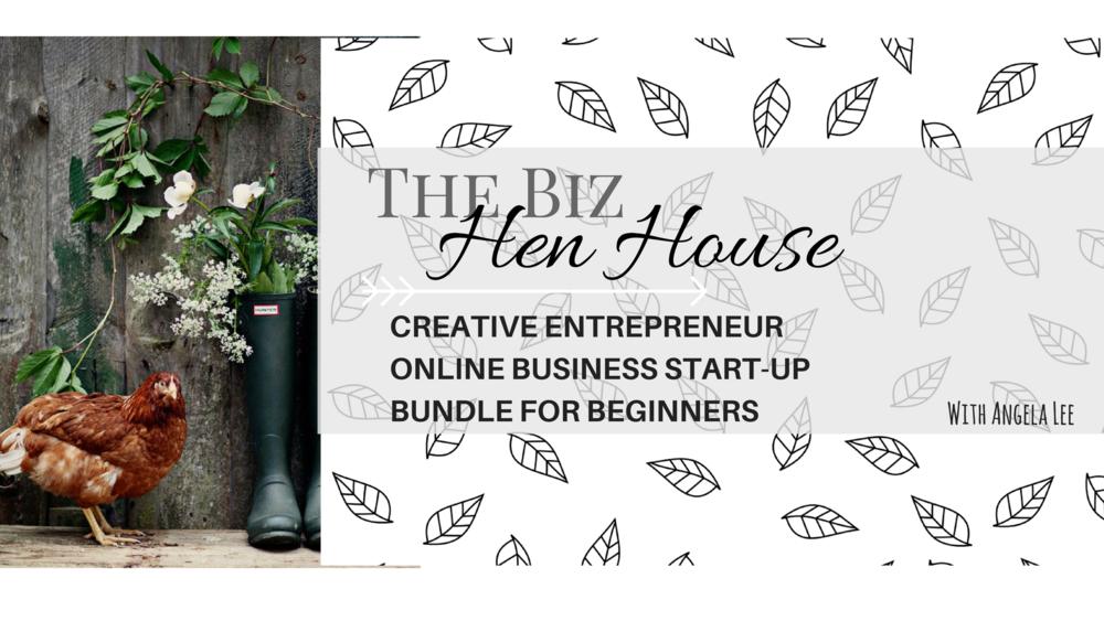 Creative Entrepreneur Goals & Teck Course Bundle