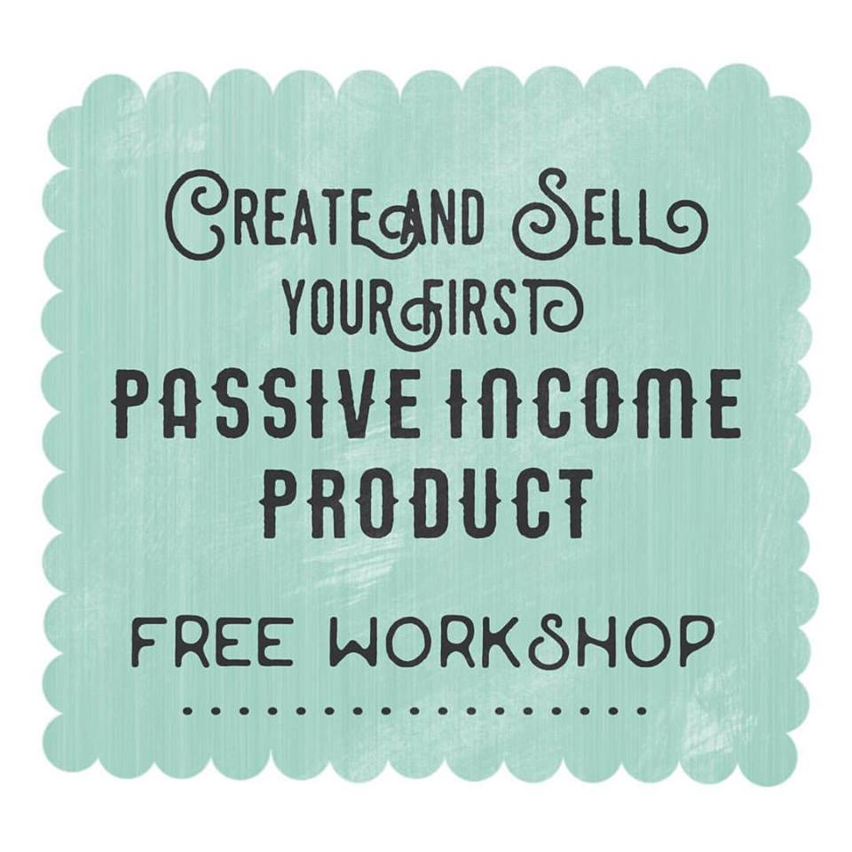 Watch now- Free Workshop to get you start creating your first passive income product! Sign up and get instant access:  -