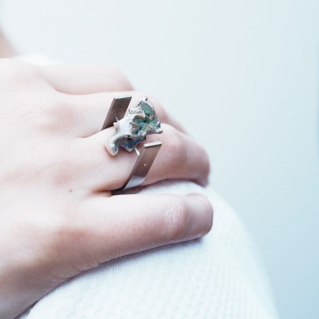 SILFRA - watercast jewelry. Each piece is unique - coming to stores soon 🌊