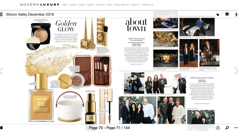 Modern Luxury Silicon Valley Magazine