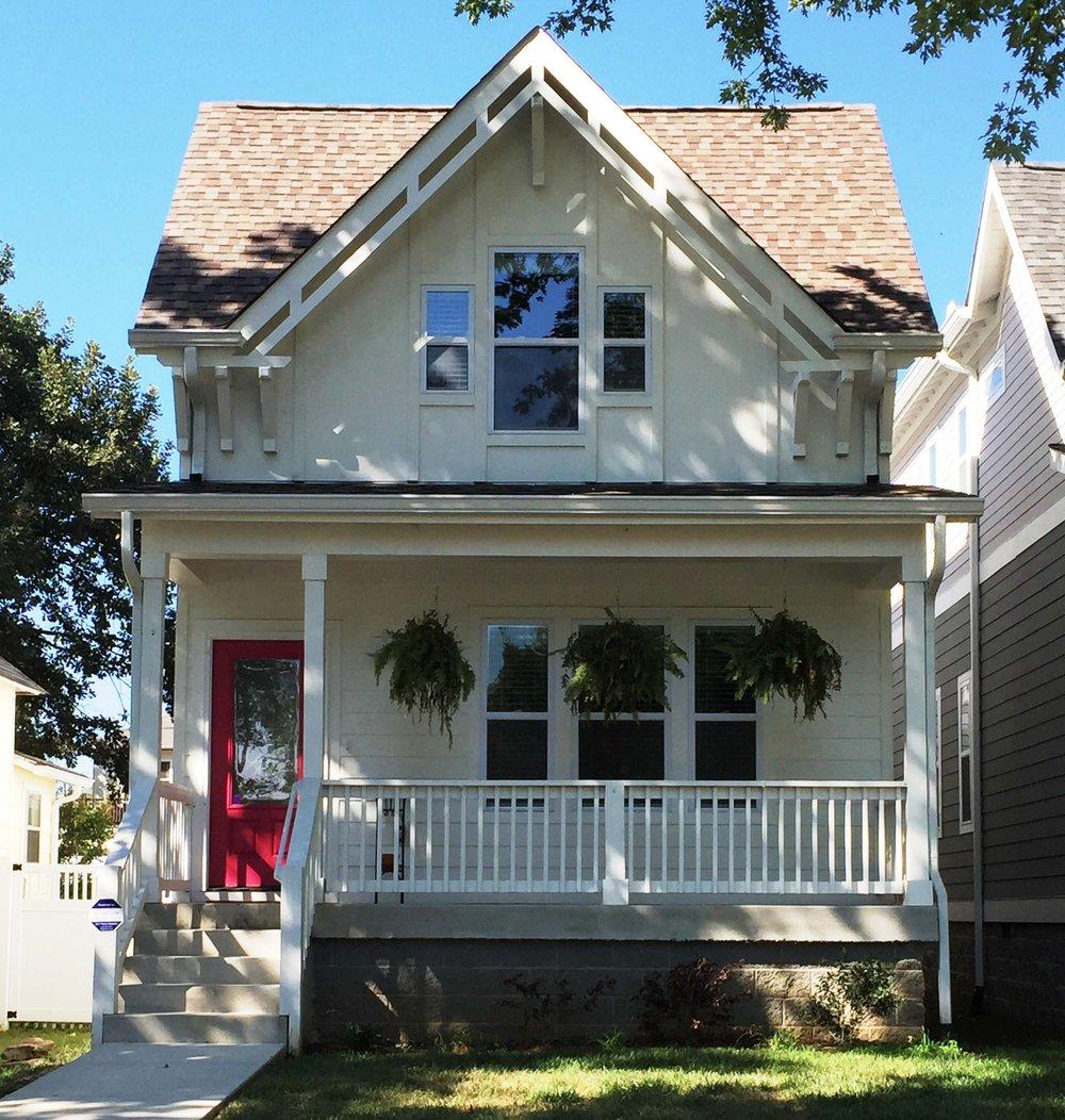 House-Plans-Online-Nashville-Narrow-Exterior-Pink Door-Michigan-Nations.jpg