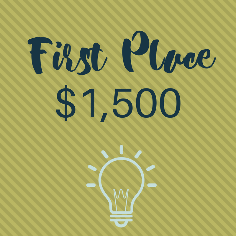 First Place Prize $1,000