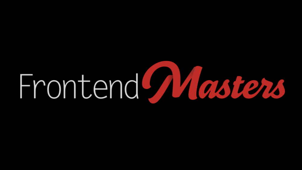 Frontend Masters Licenses - Three one year licenses for all Frontend Master premium content, valued at $390 each.