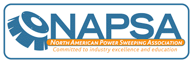 NAPSA North American Power Sweeping Association Logo - Premier Lawn Care Nashville