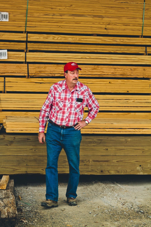 Lumber Salesman Skip Miller