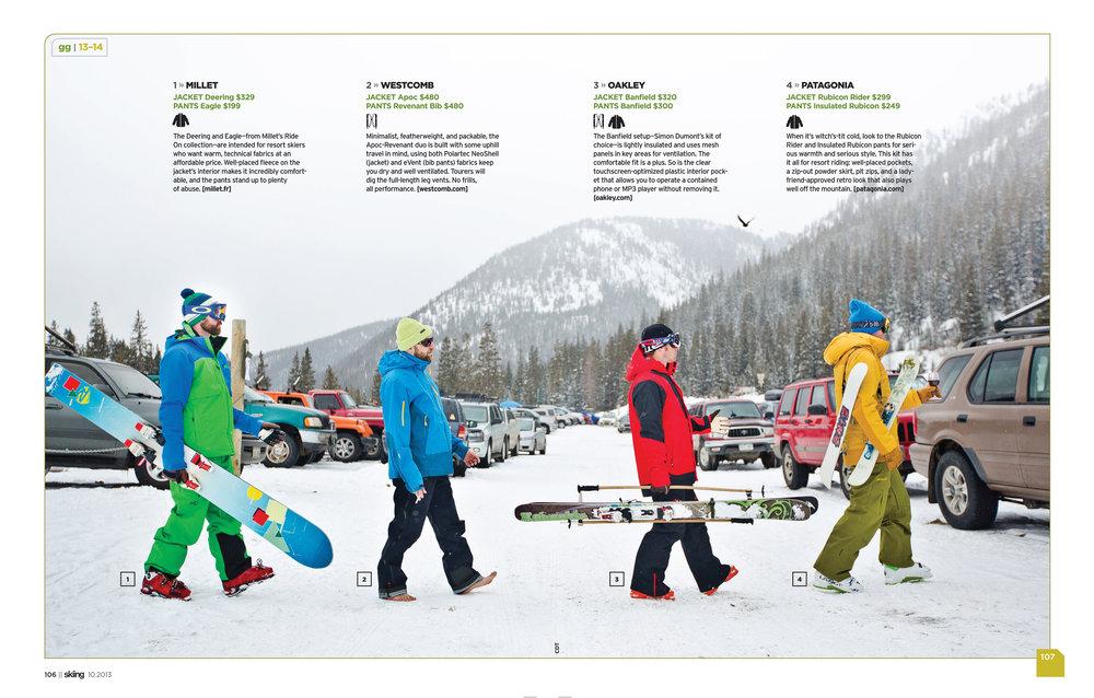 Skiing Mag - Softgoods