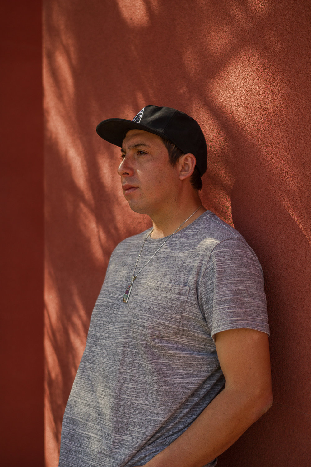 Novelist Tommy Orange