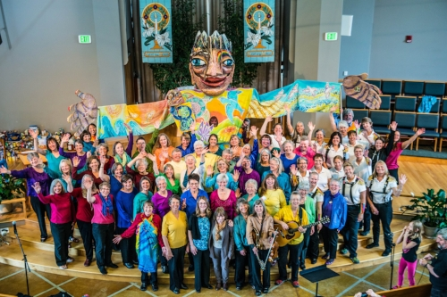 Synnovei and The Montana Women's Chorus - Helena, MT Mother's Day 2014