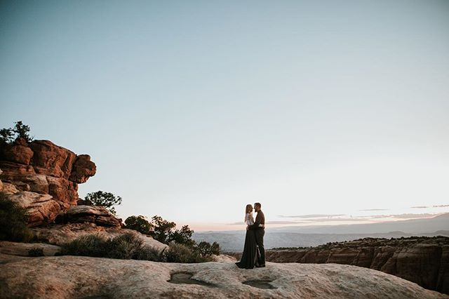 We came to Moab before shooting our good friends elopement and waited for sunrise to do this shoot. I think it was worth the wait. 🔥
