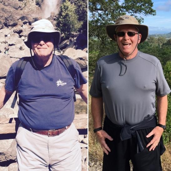 March 2015: 251 pounds  June 2016: 218.6 pounds