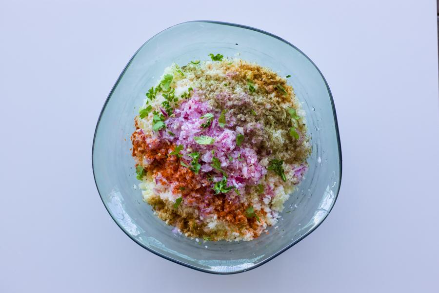 cabbage dip / cabbage salsa