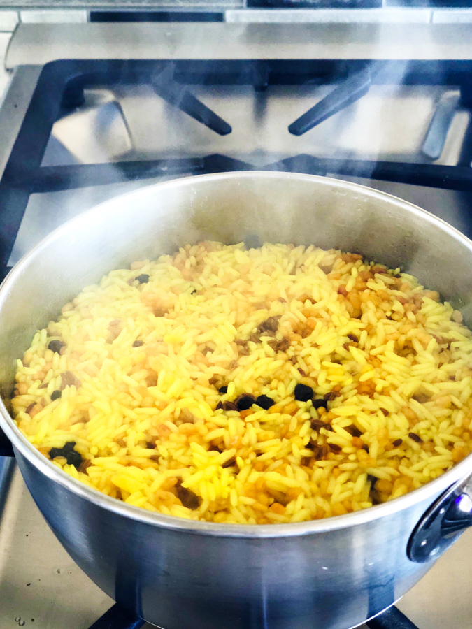 pongal simmering