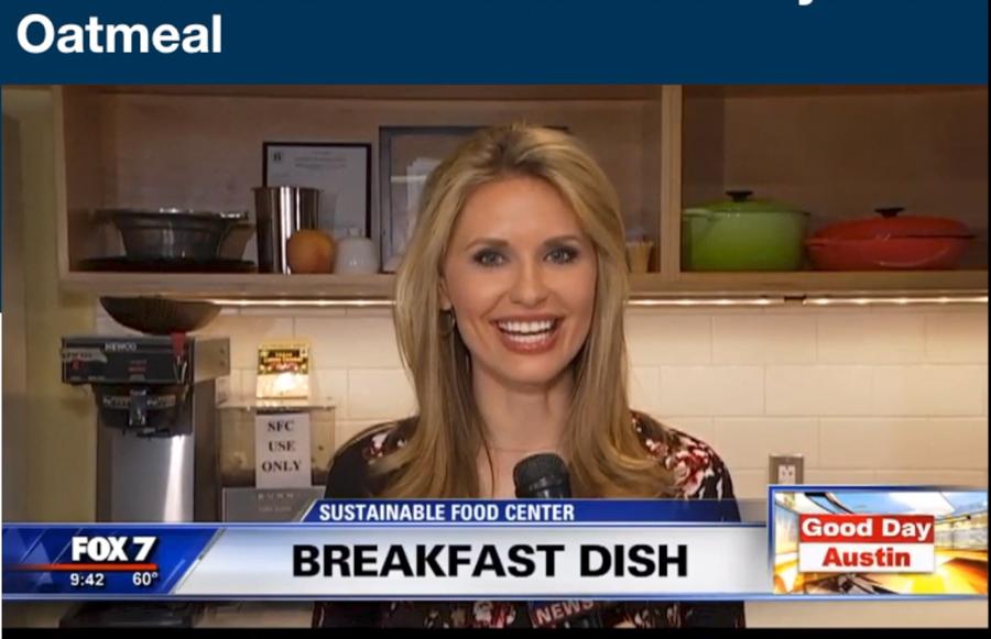 Lauren Petrowski interviews Hema Reddy at Austin Sustainable Food Center