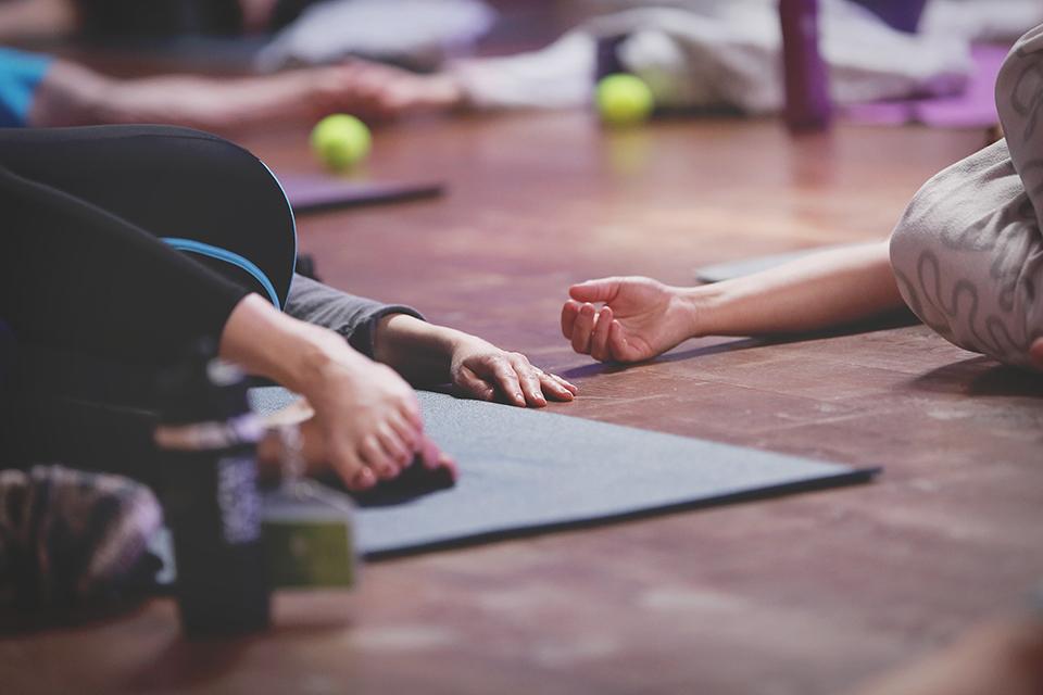 Foto: Therese Hagstedt - Yogadag på Endorfin Alingsås 2016