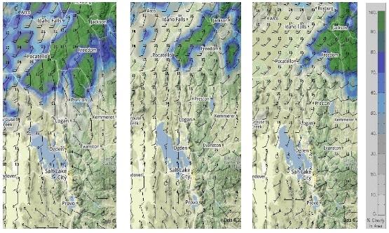 6,000ft Winds at 0900: 6,000ft Winds at 1200: 6,000ft Winds at 1500: