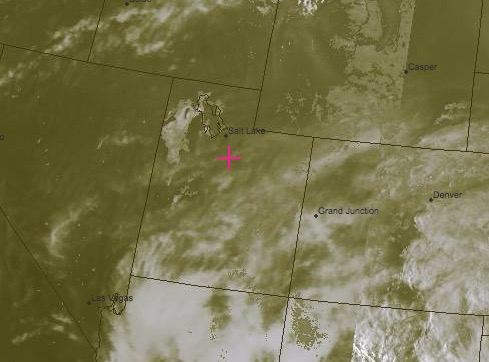 Composite VIS/IR Satellite Image Valid at 1730 Saturday: