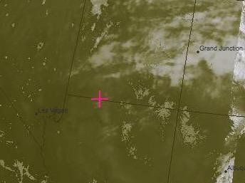 Composite VIS/IR Satellite Image Valid at 1630 Tuesday: