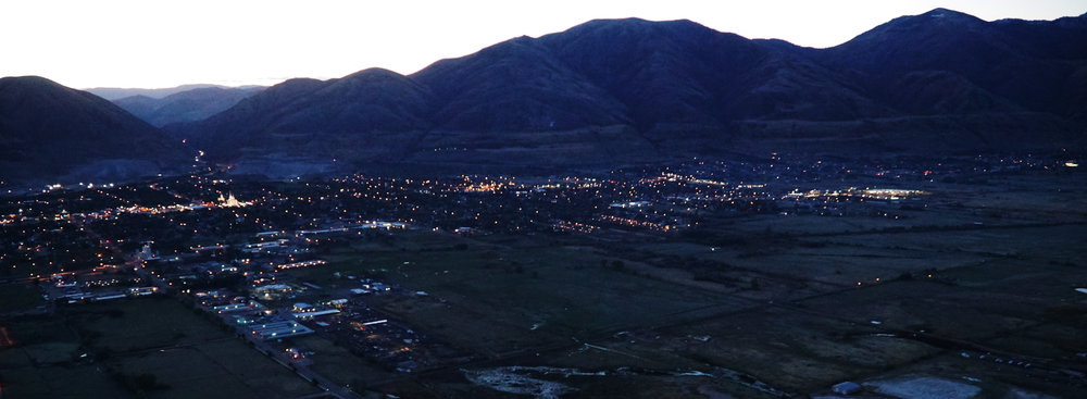 Sunrise launch from Brigham airport,  Utah