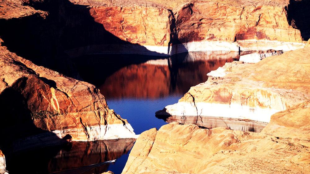 Rainbow Plateau, Arizona - the home straight
