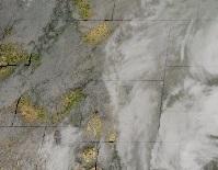 Water Vapor Composite Satellite Shot at 12:00 Saturday