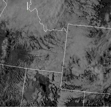 Visible Satellite Shot at 14:45 Monday