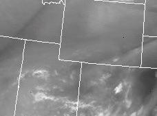 Water Vapor Satellite Shot at 15:45 Tuesday