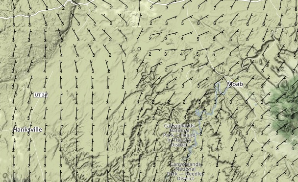 Surface Winds at 06:00