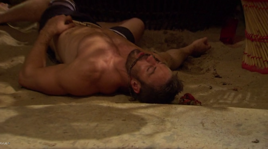 Bachelor in Paradise Chad Crab Pass Out