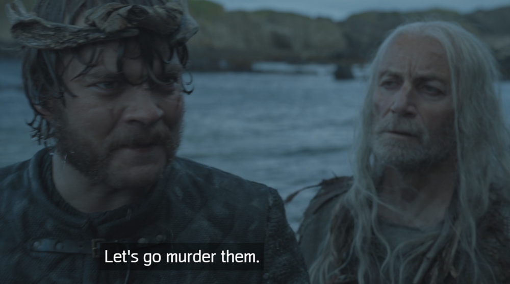 Euron Greyjoy definitely seems like the kind of guy Cersei would get along with in   The Door  (S6E5)