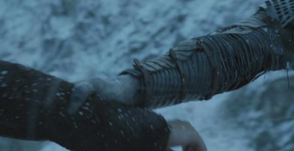 The Night's King grabbing Bran Stark in   The Door  (S6E5)
