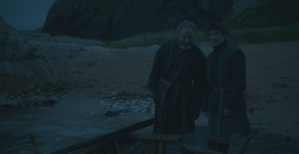 Gendry Storm, bastard son of King Robert Baratheon, last seen in  Mhysa  (S3E10)