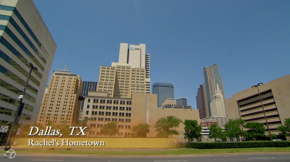 Come on, Dallas, at least make an effort. Rachel's bringing her boyfriends over.