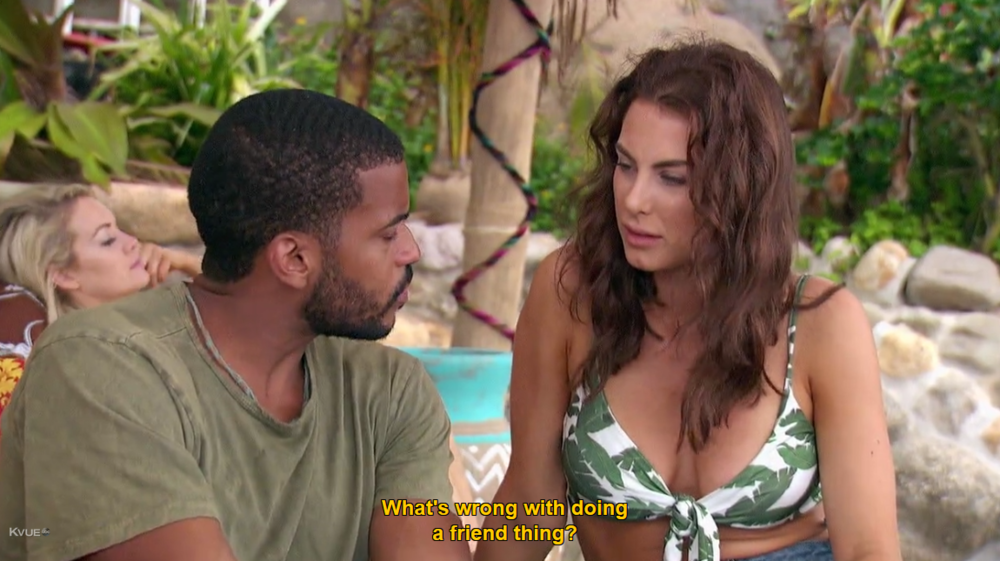What part of  Bachelor in Paradise  are you not getting, Eric?  Is it the core concept ?