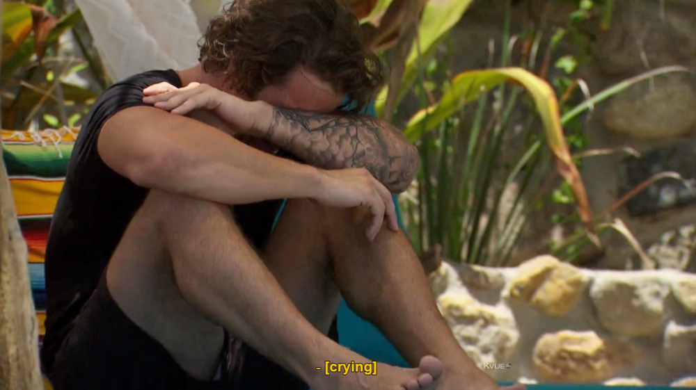 I'm not crying, Kevin's crying! But really, what are we supposed to do with one full episode without our anchors to reality?!