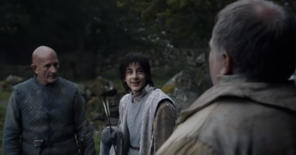 Yeah I don't think Sansa will have much trouble manipulating this guy