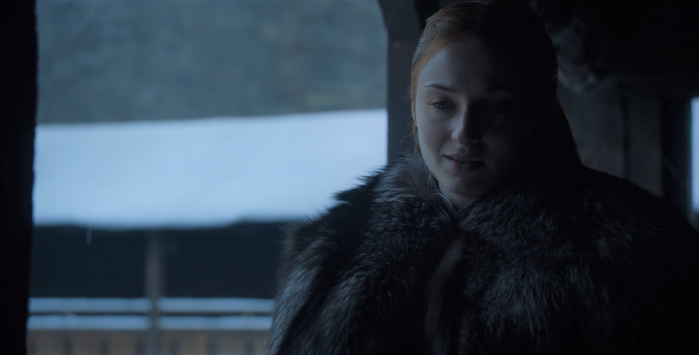 "Sansa: ""I used to think you were the cleverest man alive."""