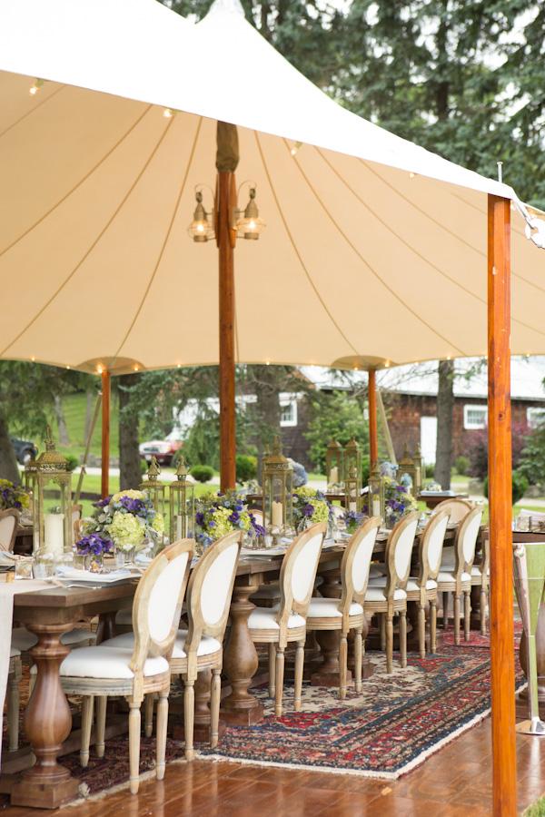 Majaraja style dining.