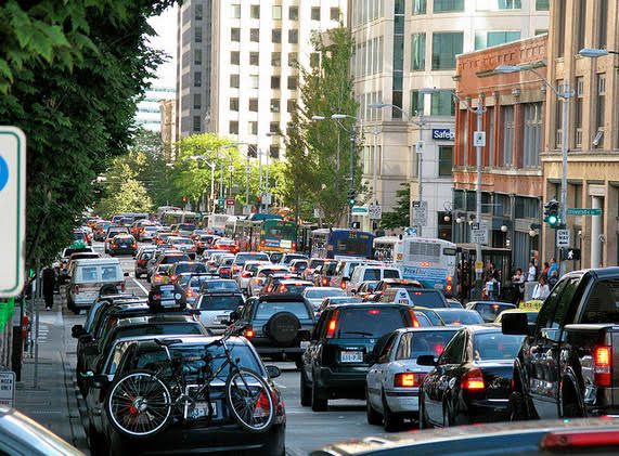 Traffic - Heavy traffic has now become the norm in Seattle - we need to act now to turn this around!