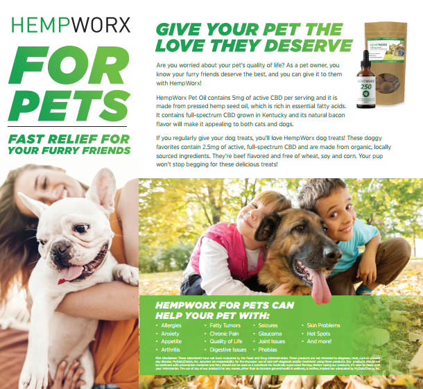Hempworx for pets