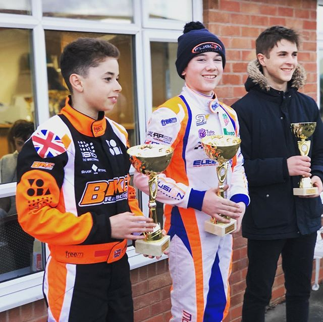 Really good weekend at shennington this weekend with a P3 from P3 and P5 from P16 in the heats putting us P3 in the final. In the final it was a close race with @samshawracing9  and @aleracing_6 but we came out on top 😉. Thanks to the usual @samfugett, @tomarmeuk, @fusion_motorsport, @aventus_power and @apsmanagement #p1 #firstwinoftheseason #doingbits #ontowigan