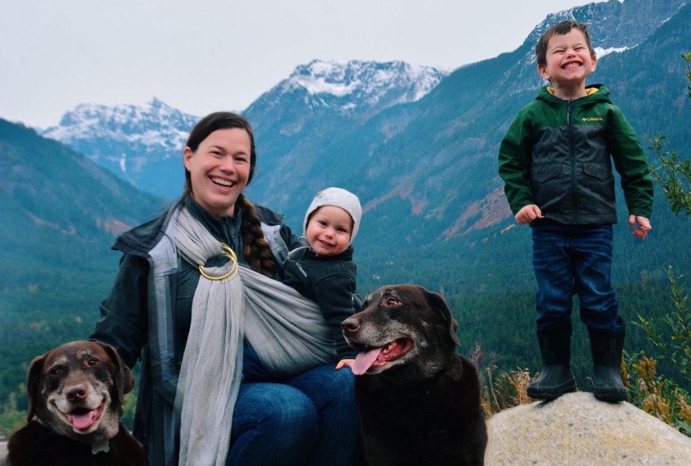 Bridget is a stay at home mama to Camden and Marley. Once upon a time, she received her PhD in organic chemistry. After Camden was born, she realized her true calling was being a mother. She fell in love with the Montessori Method and respectful parenting. Now she spends her days using Montessori at home with her two children. In her free time, she loves the mountains, running and sewing.