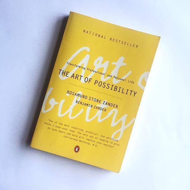Business books - 1. The Art of Possibility - Rosamund Stone Zander / Benjamin Zander2. Tribes - Seth Godin3. Creativity Inc. - Ed Catmull4. Mindset - Dr Carol Dweck5. Turn The Ship Around - L. David Marquet